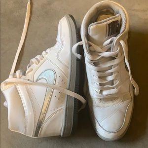 Nike Air Force one wedge sneakers-size 8